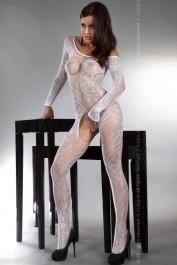 Catsuit Abra white
