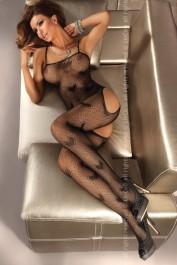 Catsuit Titania black